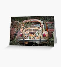 Beetle Captures History Greeting Card
