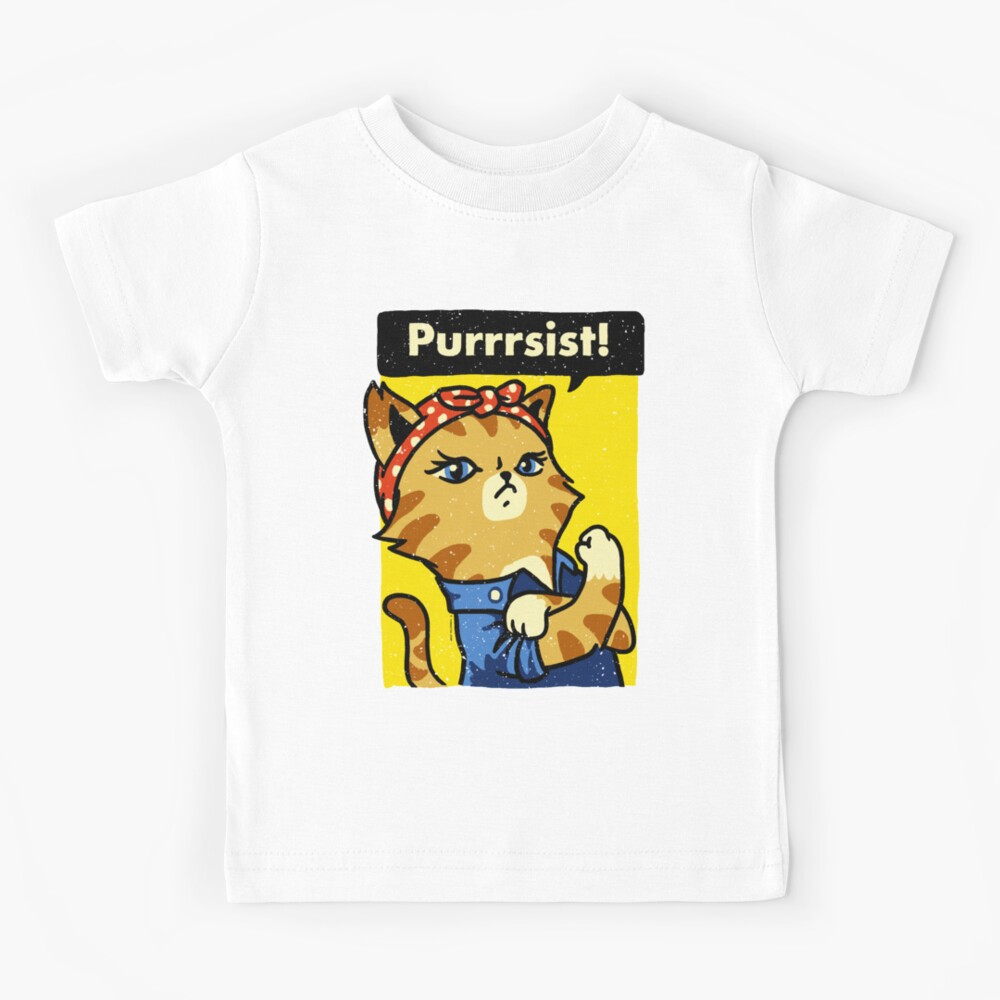 Purrrsist! Kids T-Shirt