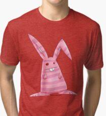 Beware the bunny  Tri-blend T-Shirt