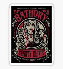 Bathory Beauty Elixer Sticker