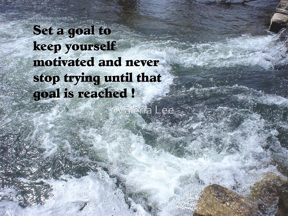 Motivation by Valeria Lee