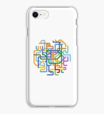 Mini Metros - Seoul, South Korea iPhone Case/Skin
