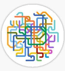 Mini Metros - Seoul, South Korea Sticker