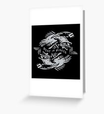 Rest in Pisces Greeting Card