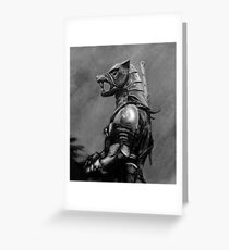 Hound of War Greeting Card