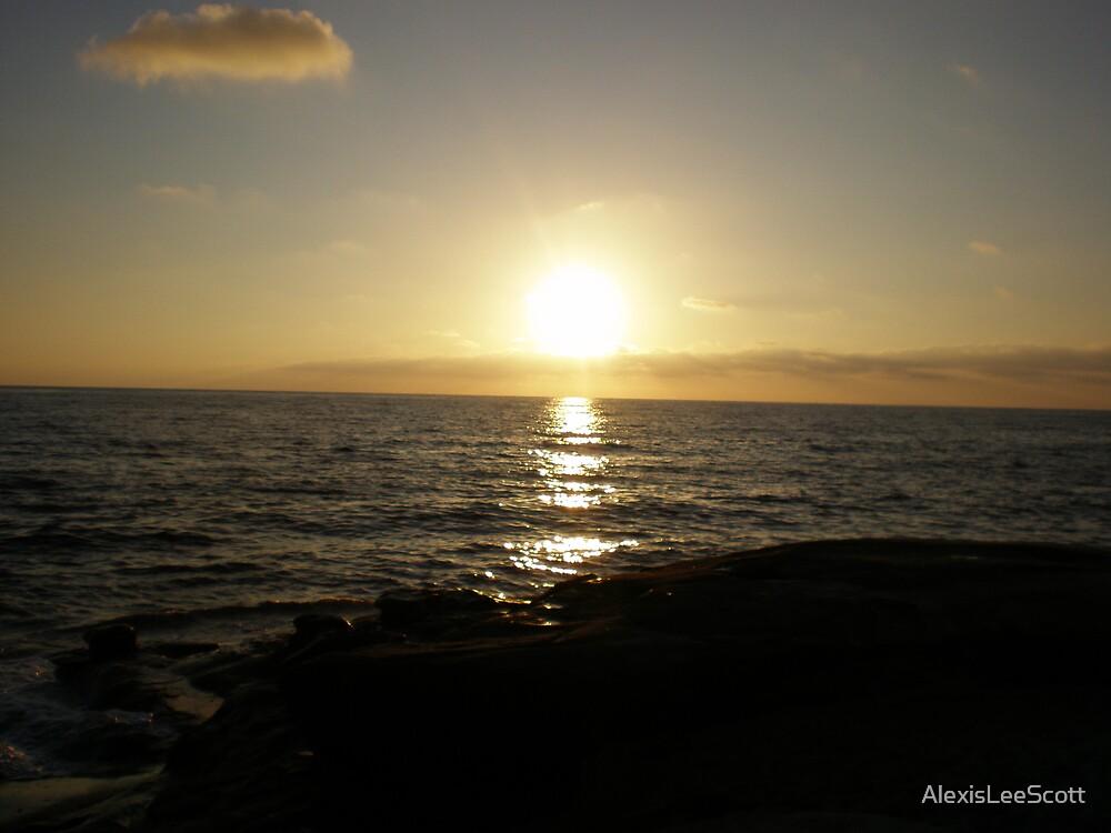 La Jolla Sunset by AlexisLeeScott