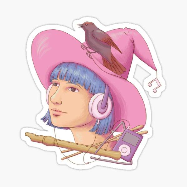 Music Witch Sticker
