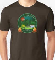 GET TIGHT - SCI - String Cheese Incident - Camping Bonfire T-Shirt