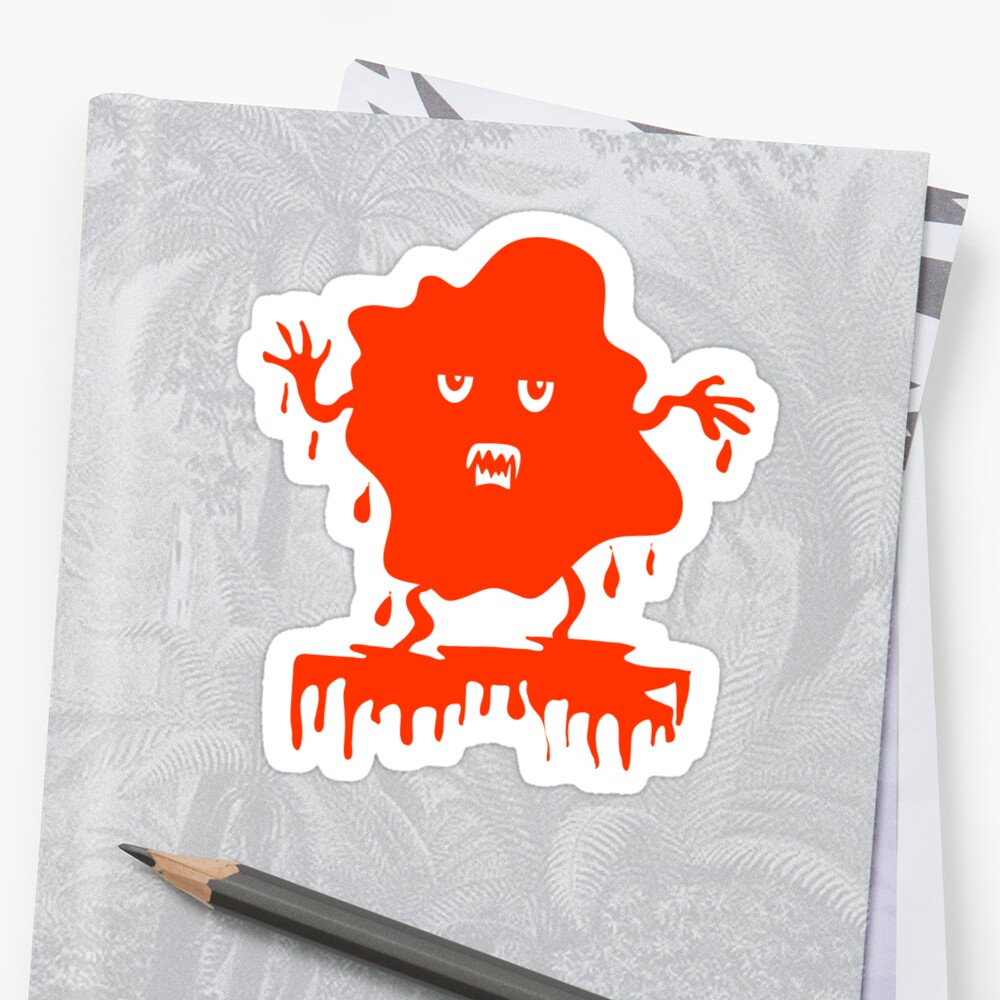 The Red Menace Sticker