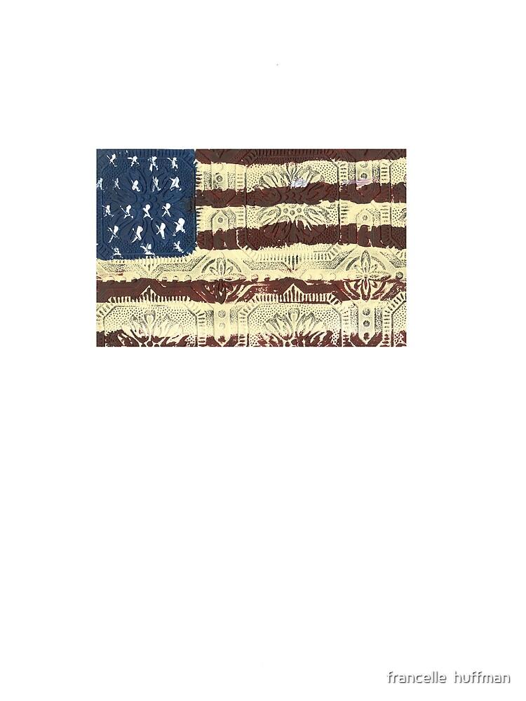 FLAG ART T-SHIRT by franniesbest