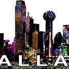 Dallas in graffiti  by rlnielsen4