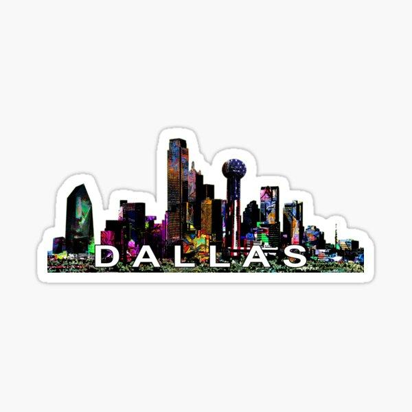 Dallas in graffiti  Sticker