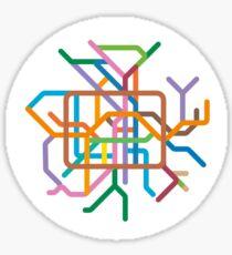 Mini Metros - Berlin, Germany Sticker