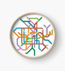 Mini Metros - Berlin, Germany Clock