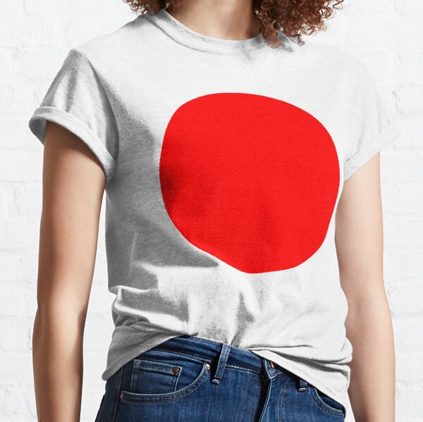 RED, DOT, CIRCLE, SPOT, RING, SPORT, TEAM. Classic T-Shirt