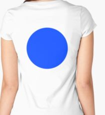 BLUE CIRCLE, SPOT Women's Fitted Scoop T-Shirt