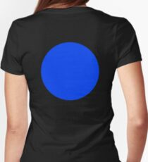 BLUE CIRCLE, SPOT Womens Fitted T-Shirt