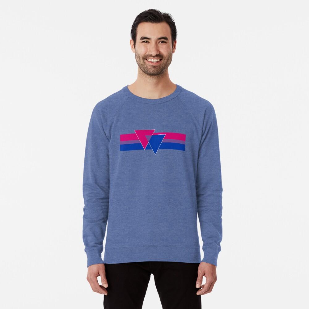 Bisexual Pride Symbol Lightweight Sweatshirt
