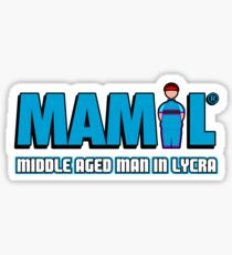 MAMIL - Middle Aged Man In Lycra Sticker