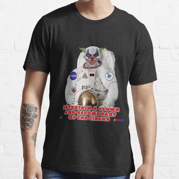 NASA Lies Clown Essential T-Shirt