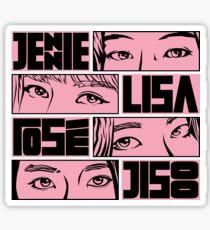 EyeD - Black Pink Sticker