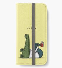 Relax iPhone Wallet/Case/Skin