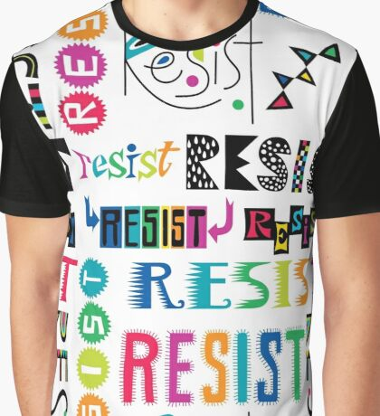 Resist Again Graphic T-Shirt