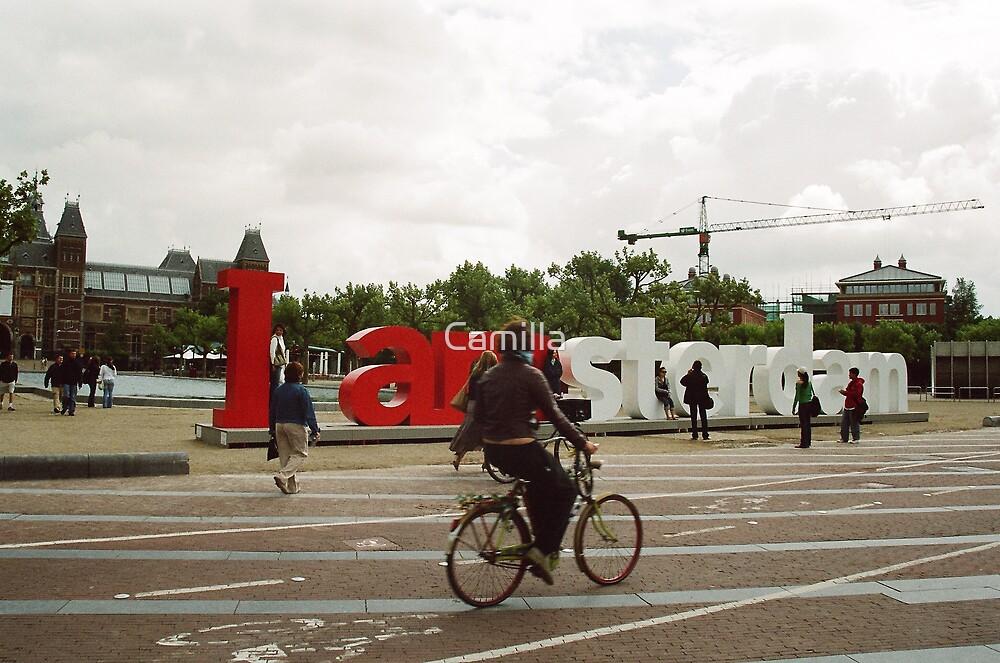 I Am Amsterdam by Camilla