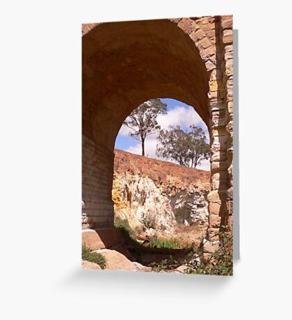 Through the djerriwarrh arch Greeting Card
