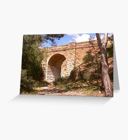 Djerriwarrh Bridge Greeting Card
