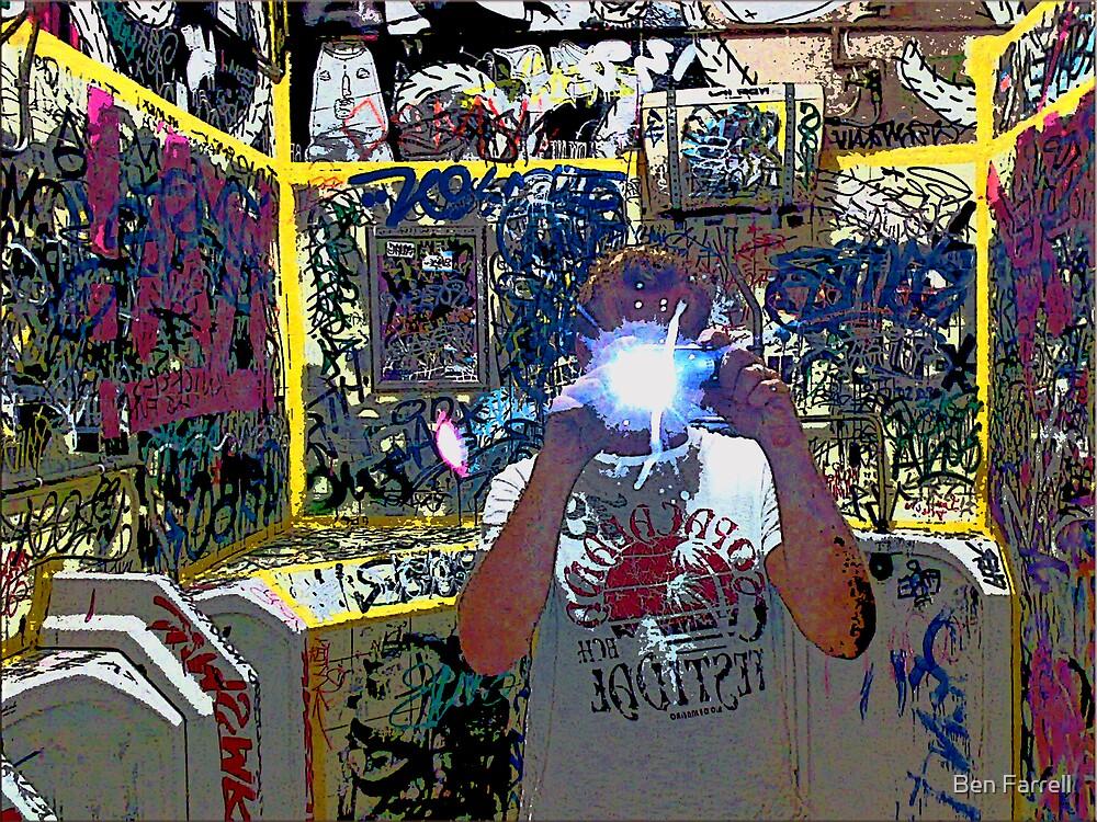 Graffiti Reflections by Ben Farrell