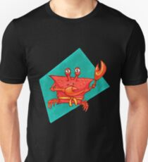 Karate Crab; yellow belt Unisex T-Shirt