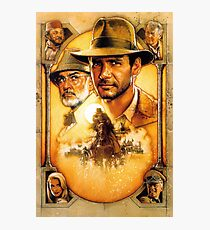 Indiana Jones and the Last Crusade Photographic Print