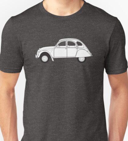 Citroën 2CV Classic Vintage Car T-Shirt
