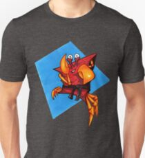 Karate Crab; black belt Unisex T-Shirt
