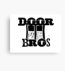 Door Bros Canvas Print