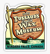 Niagara Falls Wax Museum Vintage Travel Decal Sticker