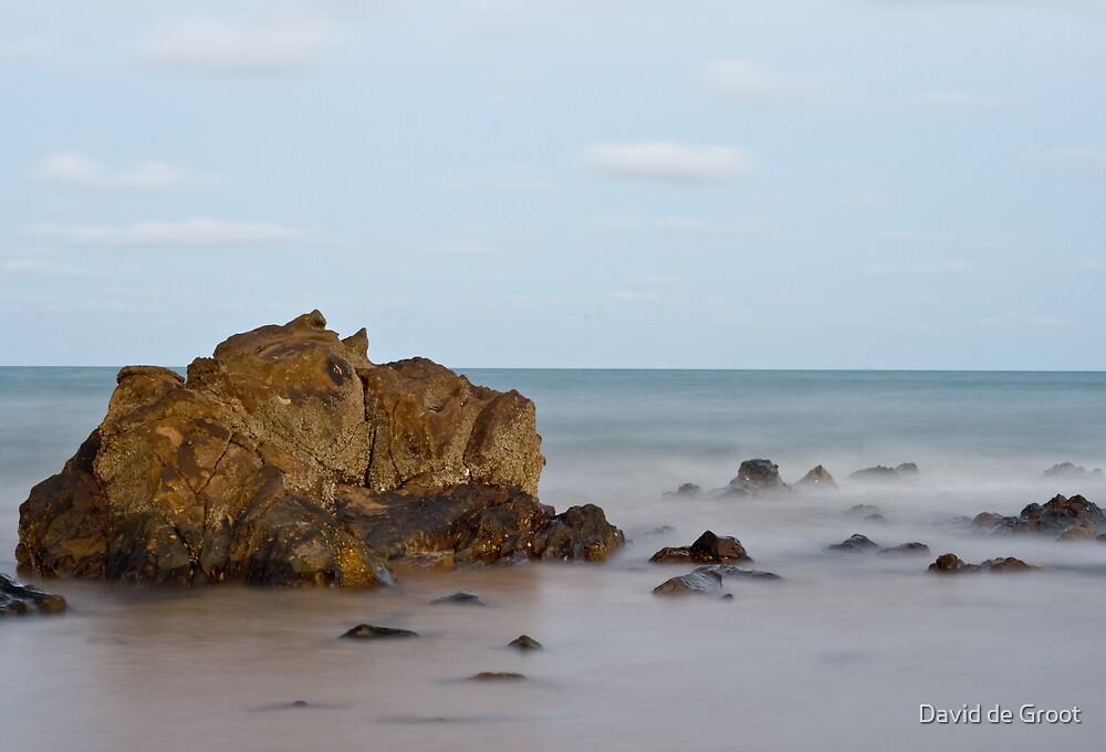 Rock in the Surf by David de Groot