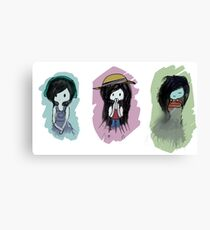 adventuretime speek no evil Canvas Print