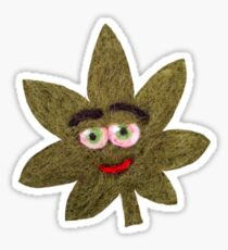 Mary Jane Leaf Sticker