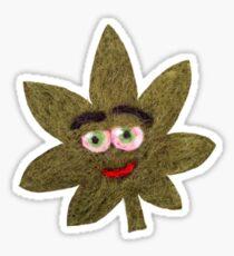 Mary Jane Leaf Sticker