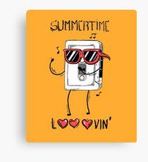 Summertime looovin Canvas Print