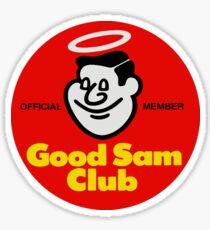 Good Sam Club Official Member Badge Sticker
