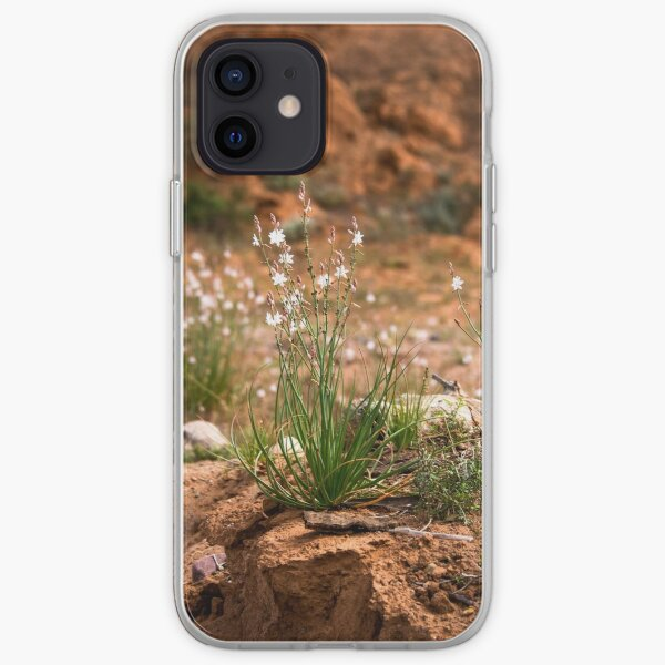 Wildflowers in the desert iPhone Soft Case