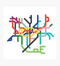 Mini Metro - London, United Kingdom Photographic Print