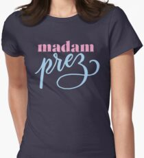 Madam Prez Women's Fitted T-Shirt