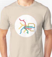 Mini Metro - Taipei, Taiwan T-Shirt