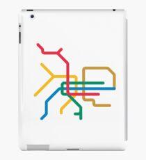 Mini Metro - Taipei, Taiwan iPad Case/Skin