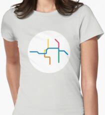 Mini Metros - Portland, United States Fitted T-Shirt