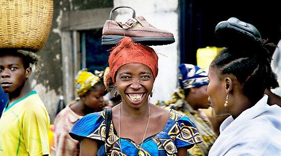 'Shoe Woman', Democratic Republic of Congo by Melinda Kerr